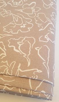 Viskose/Leinen Mix - Blumenprint