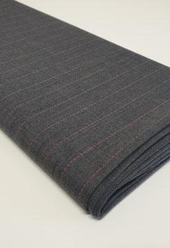Nadelstreifen - Pink / Grau