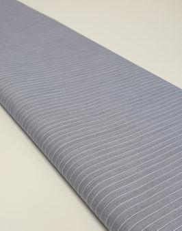 Blusenstoff - blau weiß gestreift