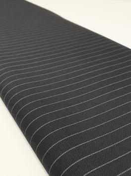 Nadelstreifen - Schwarz / Weiß