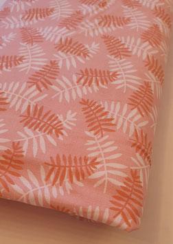 Baumwollstoff - Blätterprint