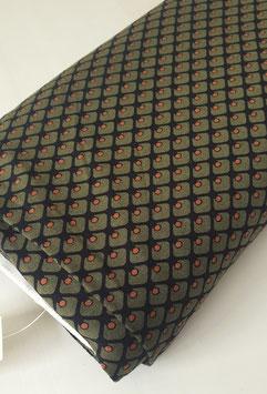 Viskosejersey - Graphischer Print Khaki