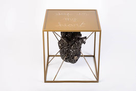 Tavolino salotto design ART Deep in my heart