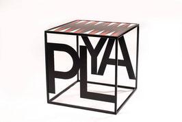 Tavolino da gioco 40x40 PLAY Backgammon