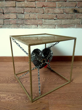 Tavolino salotto design ART Unchain my heart