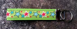 Schlüsselanhänger Znok Sterne Grün