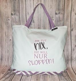 Shopper / Tasche XL, DIE TUT NIX