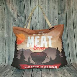 Shopper / Tasche XL, MEAT LOVER
