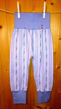 Kuschelhösli Edelweiss blau/blau Gr. 2