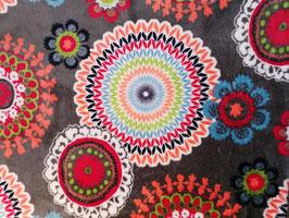 Kuschel-Fleece Ornamente Mandala