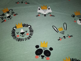 Jersey Tiere mit Kronen