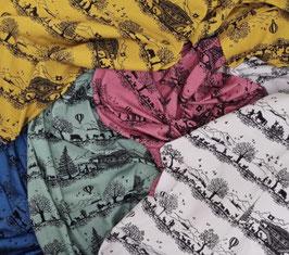 Neue Scherenschnittstoffe  Jersey Baumwolle