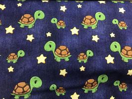 Jersey Jeanslook mit Schildkröten und Sternen