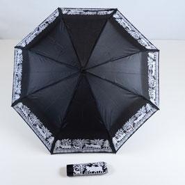 Regenschirm/ Knirps mit Scherenschnittmotiv