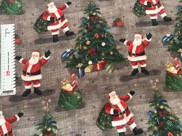 Baumwollstoff Weihnachtsmann
