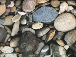 Schöner Stoff mit Steine