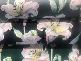 Baumwollstoff Lilien von Gütermann Serie Elegant Spirit in 3 Farben