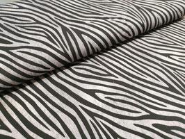 Jersey Tigerstreifen grau/schwarz