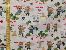 Baumwollstoff Robin Hood