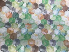 Wachstuch Mosaik bunt