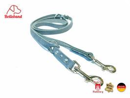 Lederleine Standard 1,5 grau