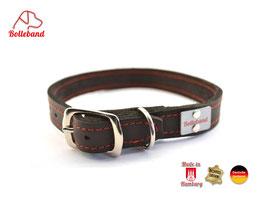 Bolleband Lederhalsband Classic 2,0 schwarz