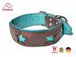 Hundehalsband 4Seasons braun Leder Bolleband