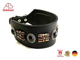 Windhundhalsband Canada 6,0 schwarz Bolleband