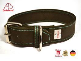 Bolleband Lederhalsband Classic 3,6 schwarz