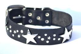 Lederhalsband Big Star 2
