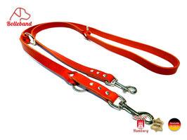 Lederleine Standard 2,0 rot