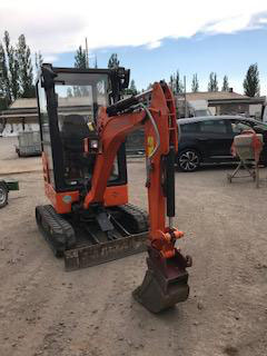 Minibagger Zaxis 19-5A, Hydraulikbagger