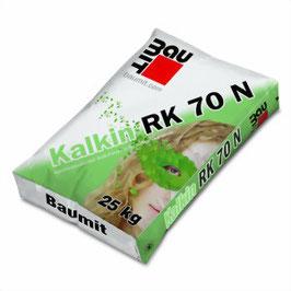 Feinputz Kalkin Fein W, RK 70 N und Glätt W