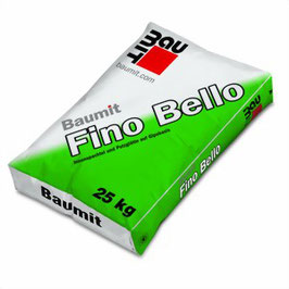 Gipsspachtel Baumit Fino Bello und Innenspachtel IS 20