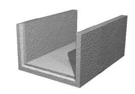 U-Schalen aus Beton