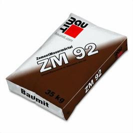 komplettes Sortiment von Mörtel BAUMIT ZM92, MM95, LM21, LM36, FM97, S, F, QM 120, ZVM94, Puma91, Multi61, Hobby04 und Speedfill