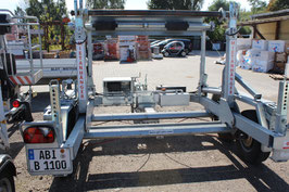 Bagela Kabeltrommeltransportwagen  BKT 127