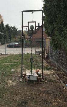 Brunnenbohrgerät bis 25m Bohrtiefe