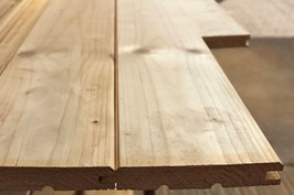 Profilholz Fasebrette  für den sichtbaren Einbau