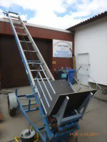 Dachdeckeraufzug Emminghaus Pionier