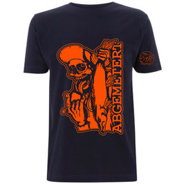 Skull T-Shirt v. Abgemetert Orange