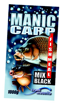 Mosella Manic Carp Fishmeal Mix Black