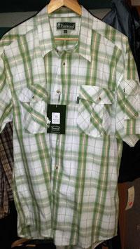 Pinewood Shirt Toscana Grün - Weiss