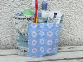 TRAVORGA -*Map* Little Travel Bag for toothbrush and cremes