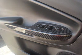 Alfa Romeo Giulietta Carbon Fensterheberschalter Abdeckung (4er Set)