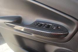 Alfa Romeo Giulietta Carbon Mirror Switch Panel Cover (Set of 4)