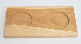 Holz -  Untersetzer Doppel