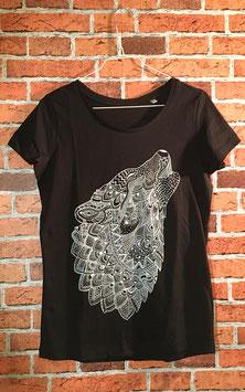 WOLF Shirt Schwarz