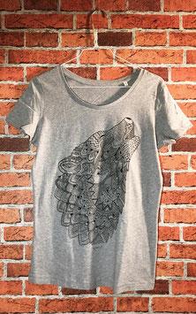 WOLF Shirt Grau Frauen