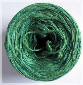 Zweifarbig froschgrün/oceangrün